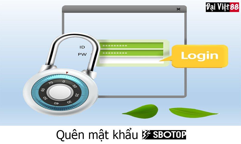 Quên mật khẩu SBOTOP